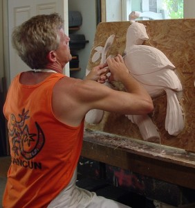Carving a partridge